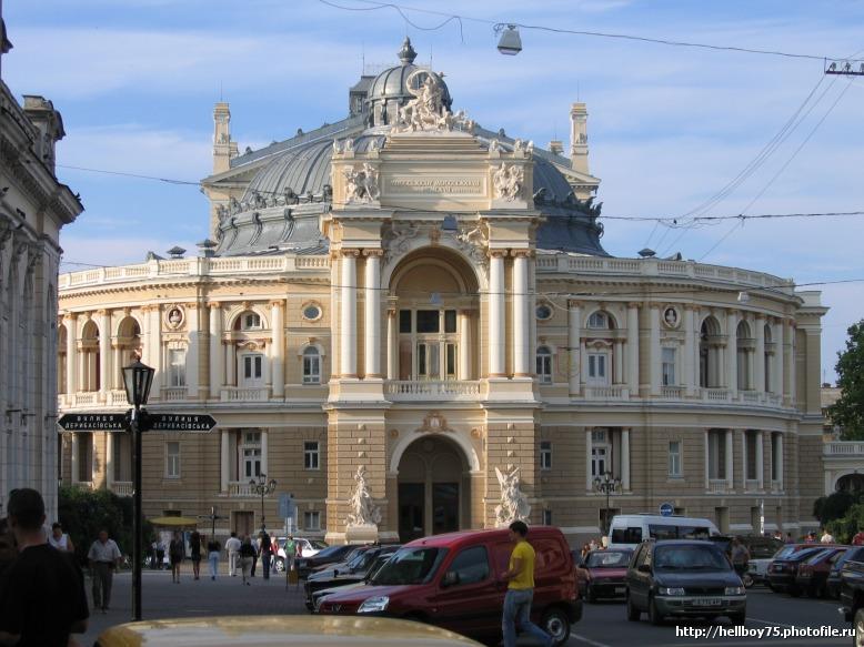 Наш Одесский оперный театр.  Многострадальный, последние 10 лет...